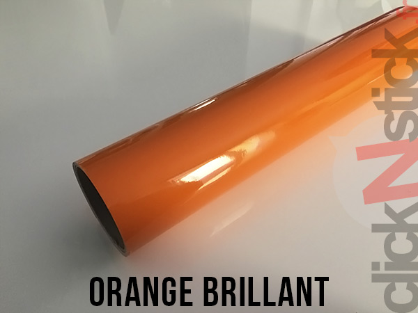 Orange brillant