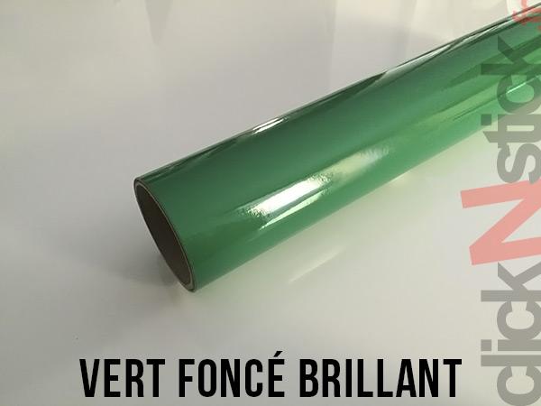Vert foncé brillant