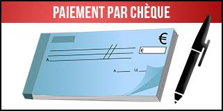 Paiment par chèque