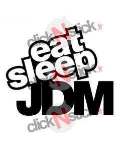 stickers eat sleep jdm