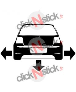 stickers golf mk4 mkIV low tuning