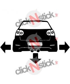 stickers golf mk5 MKV tuning low