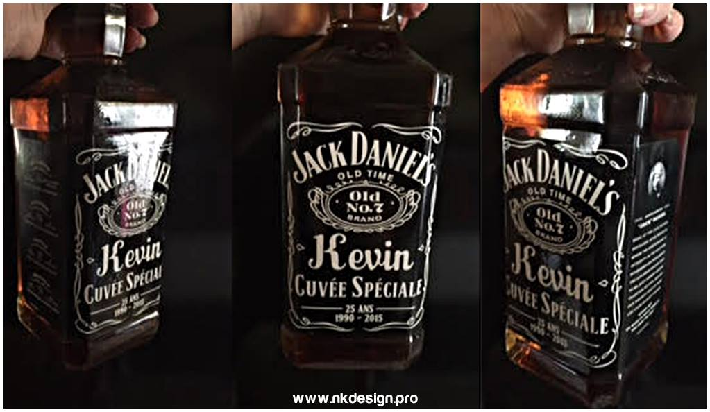 verre a whisky jack daniels personnalise