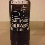 étiquette personnalisée cuvée spéciale pastis 51