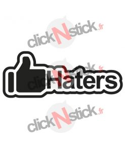 stickers like haters