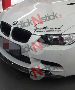 sticker sports mind bmw motorsport