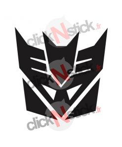 stickers logo transformers decepticons decepticon