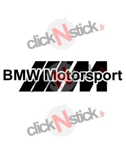 bmw motorsport design sticker
