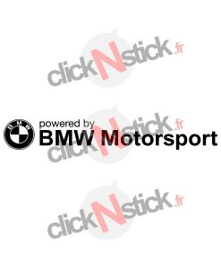 bmw motosrport logo stickers
