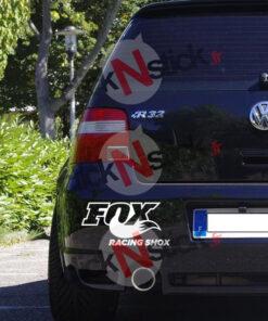 FOX Racing shox sticker