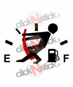 jauge essence gasoil gauge stickers