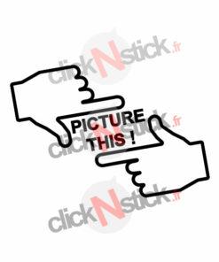 Picture this prends ça en photo stickers