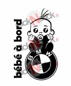 bébé à bord bmw garçon stickers