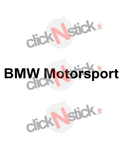 BMW Motorsport stickers