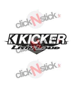 kicker spl flex démo audi stickers
