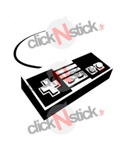 manette nes nintendo stickers
