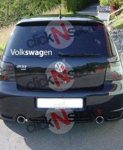 Volkswagen swag autocollant