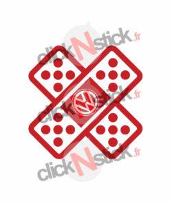 pansement fail stickers volkswagen vw