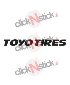 Toyo Tires pneus sticker