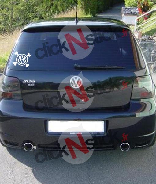VW volkswagen pirate sticker