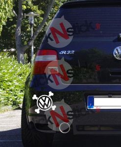 VW volkswagen pirate stickers