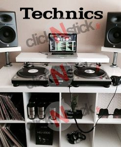 Technics platine dj stickers
