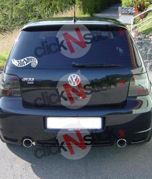 Hot Wheels volkswagen vw stickers humour