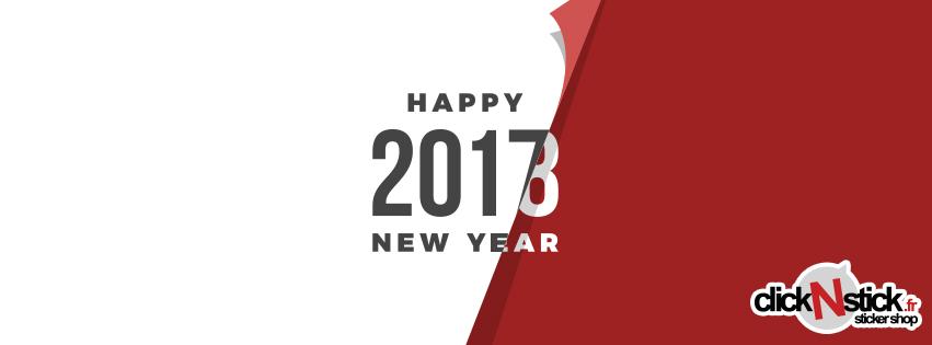 Votre site 100% stickers vous souhaite une bonne année 2018