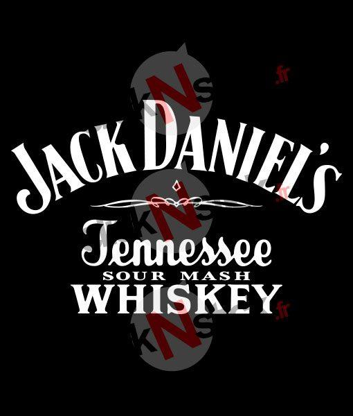 Sticker jack daniel's personnalisé