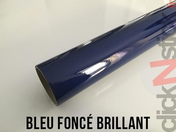 Bleu foncé brillant