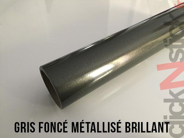 Gris foncé métallisé brillant