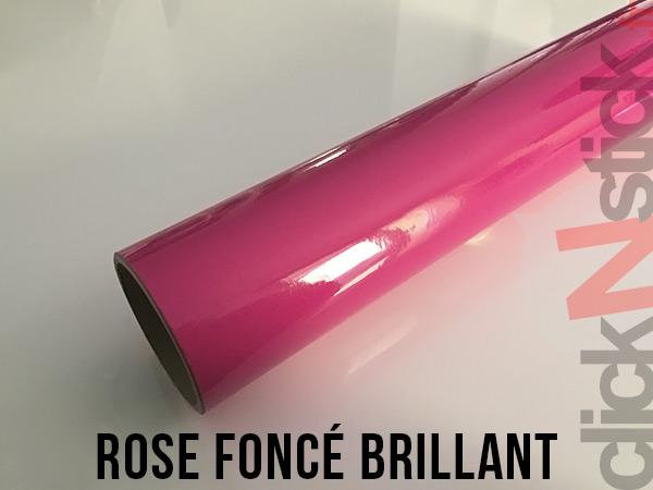 Rose foncé brillant