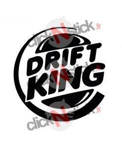 stickers drift burger king