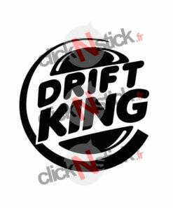 stickers drift burger king