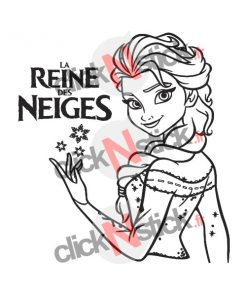 stickers frozen reine des neiges