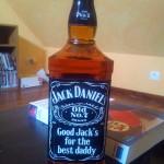 personnalisation bouteille étiquette whisky jack daniel's