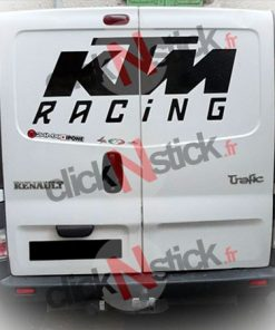 Sticker KTM Racing géant