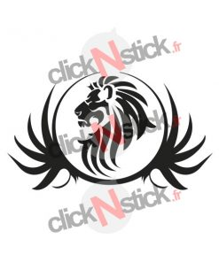 stickers lion tribal