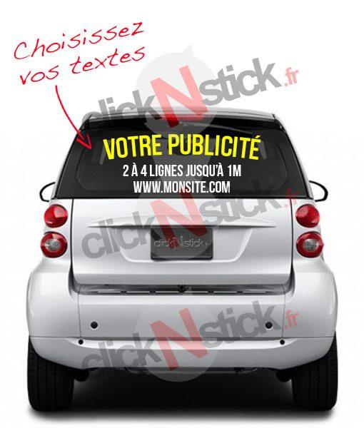 votre publicité véhicule personnalisée en ligne