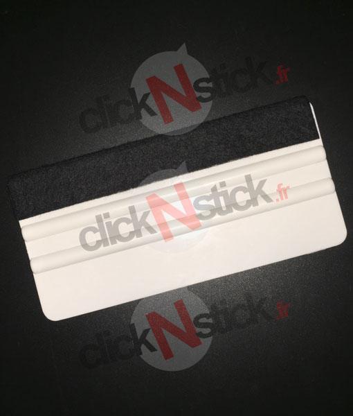 raclette de pose grande taille avec feutrine pour autocollant stickers