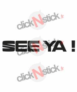 sticker See Ya! nouveau logo Seat