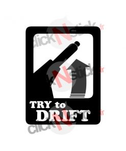 sticker try to drift