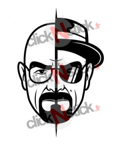 stickers walter white alias heisenberg de breaking bad