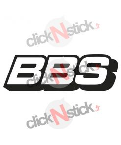 logo BBS jantes rim wheels stickers