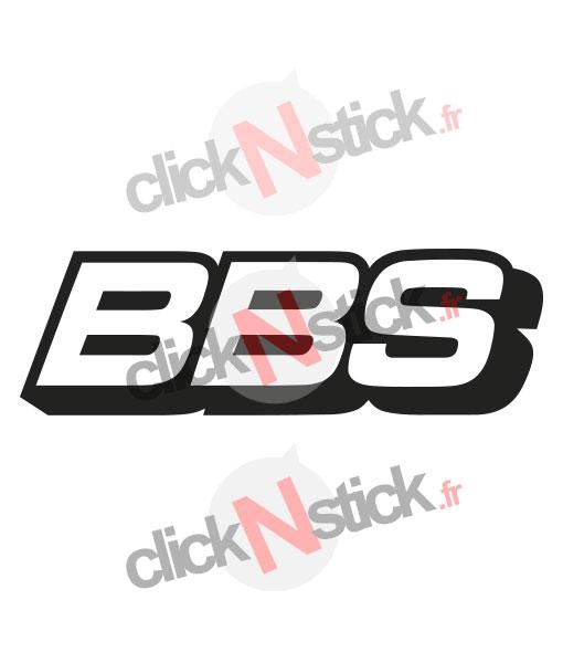 logo BBS jantes rim wheels stickers