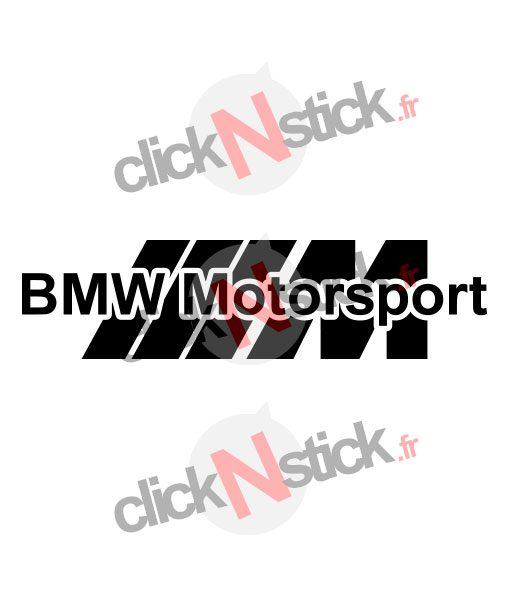 bmw motorsport design sticker
