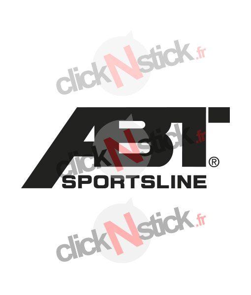 ABT Sportsline préparateur stickers