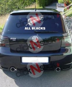 all black sticker