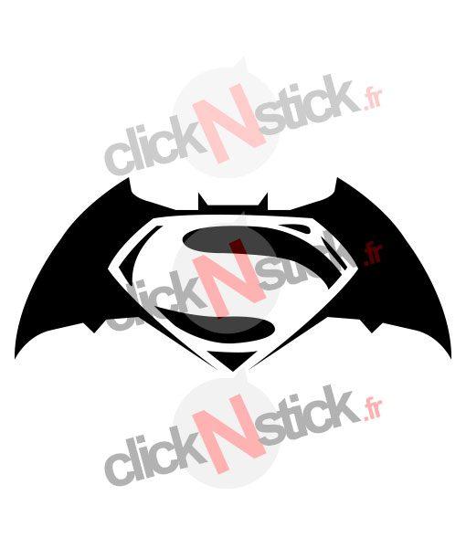 batman vs superman stickers