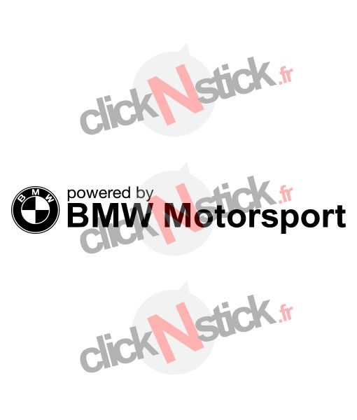bmw motosrport logo stickers